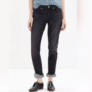Madewell Black Slim Boy Jeans 28